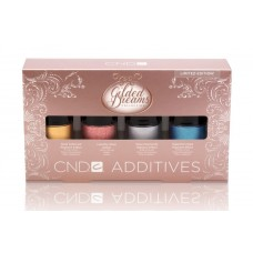 CND, Набор дизайнерских пигментов Additives Gilded Dreams 4пр