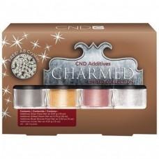 CND, Праздничный набор пигментов для зеркального маникюра Additives Collection Charmed Holiday 4 цв