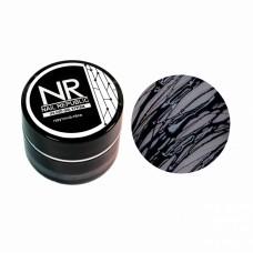 Nail Republic, Паутина-гель для дизайна ногтей, Black 5 гр