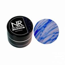Nail Republic, Паутина-гель для дизайна ногтей, Blue 5 гр