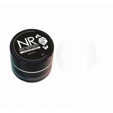 Nail Republic, Пластилин для лепки на ногтях NR PLASTILINE 01, Белый 5 гр