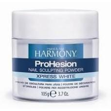 Harmony, Пудра ярко- белая ProHesion Xpress White 105 гр