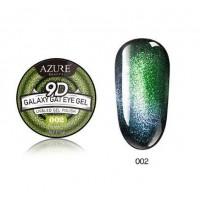 Azure, Гель лак кошачий глаз 9D в баночке 002 5 гр