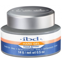 IBD, Гель для френча конструирующий белый Hard French X-treme builder UV white 14 гр