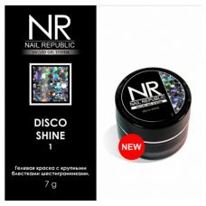 NR, Гелевая краска Disco Shine #1 баночка 7 гр