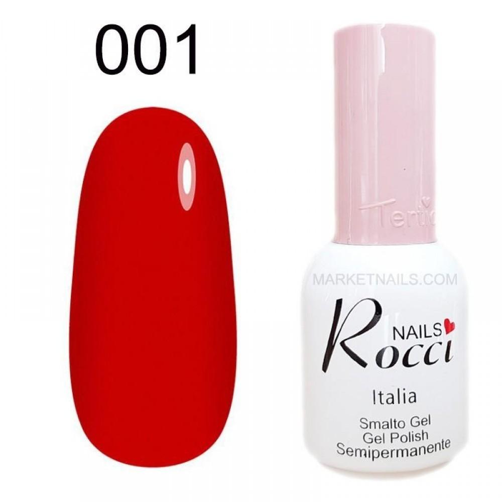 Гель лак Tertio Rocci Nails №006 Бордо 10 мл