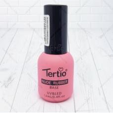 Tertio, Каучуковая база камуфляж Tertio Nude Rubber Base 001 UV/LED 12 мл