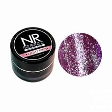 Nail Republic, гель-краска c блестками для ногтей NR Гель-краска мерцающая №7, Light pink 7 гр