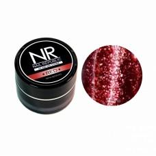 Nail Republic, гель-краска c блестками для ногтей NR Гель-краска мерцающая №2, Red 7 гр