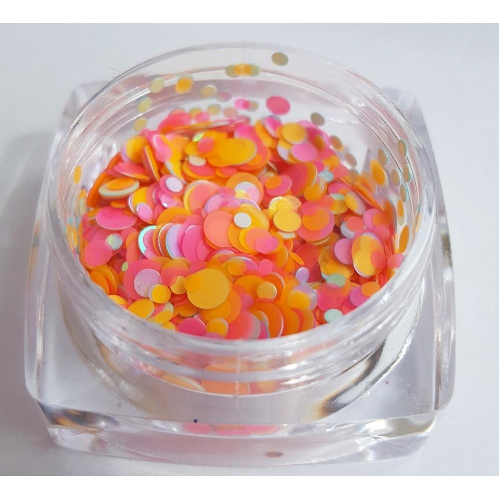 Камифубуки оранжево-розовый № 025 баночка 3гр