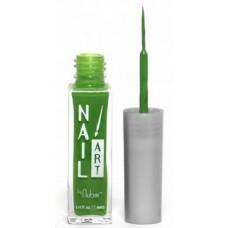Nubar, Лак для росписи Neon Green Creme A128 неоновый зеленый 8,8 мл