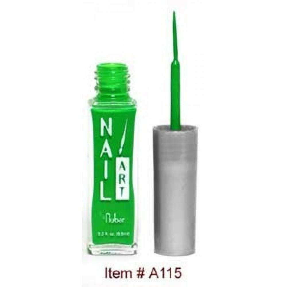Лак для росписи Nubar Зеленый Неон 8,8 мл