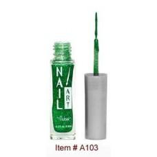 Nubar, Лак для росписи Зеленый с блестками 8,8 мл