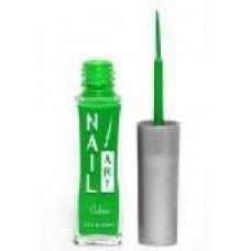 Nubar, Лак для росписи Neon Green A115 неоновый зеленый 8,8 мл