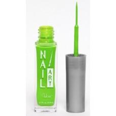 Nubar, Лак для росписи Neon Lime A120 неоновый салатово-зеленый 8,8 мл