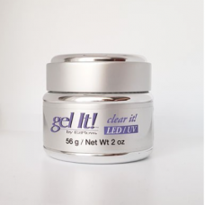 Ezflow, Гель конструирующий прозрачный LED/UV Gel Clear it 56 гр