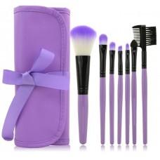 Набор кистей для макияжа 7пр. + чехол Make Up For You
