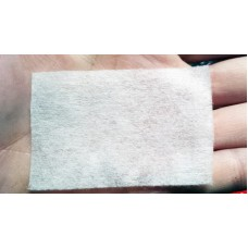 Салфетка для очистки кистей, снятия лака 75 шт, размер  6 см*4 см