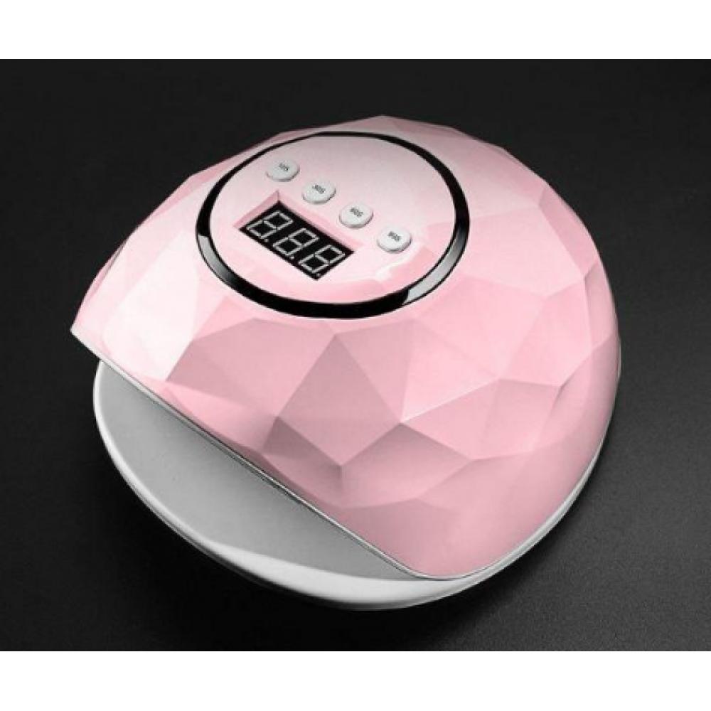 Лампа маникюрная LED F5 -72w розовая