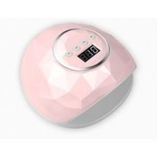 Лампа маникюрная LED F6-86 w розовая