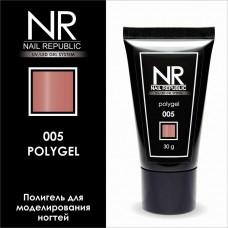 NR, Полигель Телесно-Розовый 005 30 гр