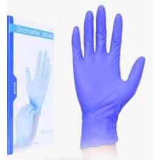Перчатки нитриловые для маникюра S, M