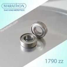 Подшипник миниатюрный радиальный закрытый 1790 zz (17*9*5мм)