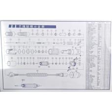 Схема разбора ручек микромоторов