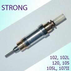 Шпиндель для микромотора Strong в сборе с подшипниками, цангой